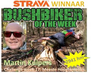 Winnaar week 17 Martin