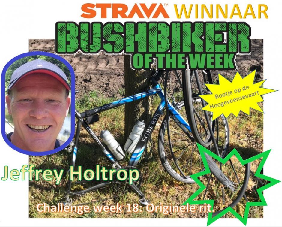 Winnaar week 18 Jeffrey