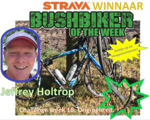 Jeffrey winnaar week 18